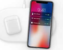 传AirPods无线充电盒将可给iPhone无线充电