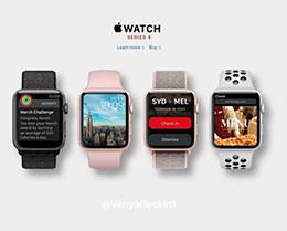 Apple Watch将迎来首次设计变更:屏幕尺寸增加