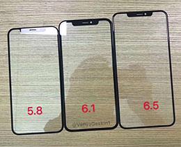 刘海屏没跑了:2018款iPhone前面板曝光