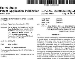 苹果新专利:让iPhone当你的身份证