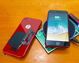 国外技术人士给iPhone 7加入了无线充电