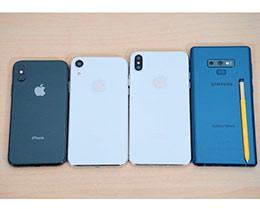 提前PK:2018 iPhone机模对比三星Note 9