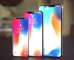 苹果被曝将推3款新iPhone:升级版iPhone X或配3个后摄像头