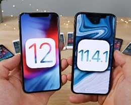 苹果iOS 12 vs iOS 11.4.1全机型速度测试