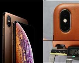 请注意:iPhone X的保护壳并不适用于iPhone XS