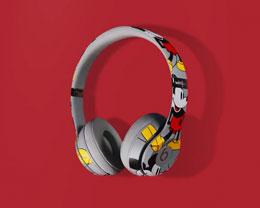 苹果发布米奇 90 周年特别版 Beats Solo 3 无线耳机