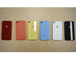 iPhone XR 即将开始预售,你准备选哪个颜色?
