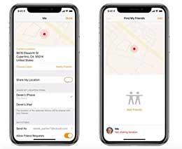 iPhone 隐藏功能:与家人共享所在位置