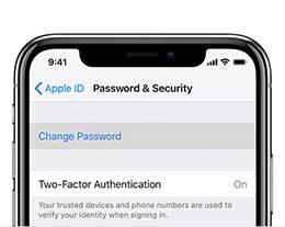 如何修改Apple ID密码?