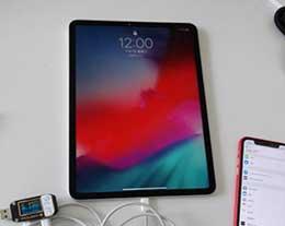 """史上最贵""""移动电源"""":新iPad Pro充iPhone XS功率测试"""