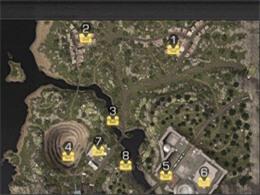 《明日之后》地图探索位置一览 宝箱可获得金条