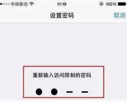 忘记访问限制密码怎么办?如何破解访问限制密码