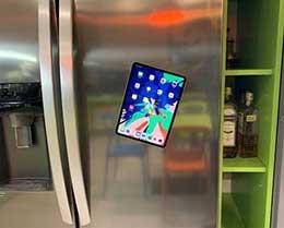 """iPad Pro 隐藏功能:史上最贵的""""冰箱贴"""""""