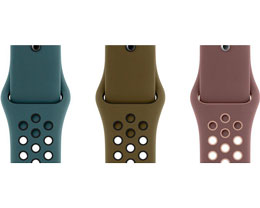 Nike 正式发布两款全新 Apple Watch 运动表带,均有三种配色