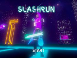 炫彩霓虹还带割草 Slashrun这才叫跑酷呀