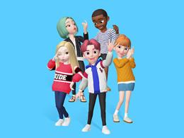 """3D版QQ秀""全球爆红!ZEPETO登顶19国iOS免费榜"