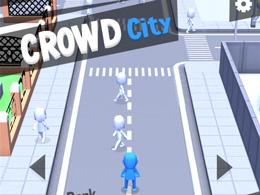 我才是铜锣湾的扛把子 拥挤城市Crowd city试玩