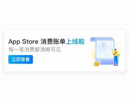 支付宝 Apple 专区上线 App Store 账单功能