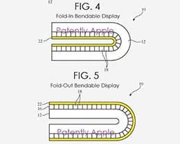 最新专利显示:苹果正在开发可内外折叠的 iPhone