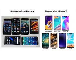 苹果 iPhone 对于安卓手机的影响有多大?看图就知道了