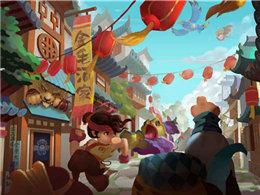 新年国风游戏来一发,《奇想江湖》有兴趣吗?  ?