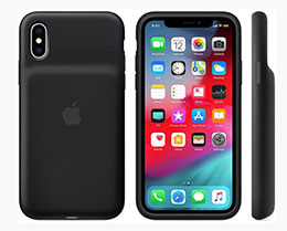 iPhone XS/XS Max 智能电池壳细节:容量比旧版本低
