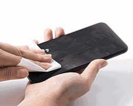iPhone手机屏幕有多脏?清洁iPhone手机屏幕方法