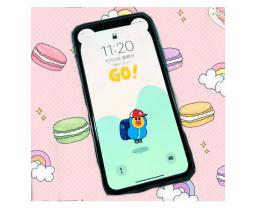 利用壁纸隐藏/美化 iPhone XS 刘海屏