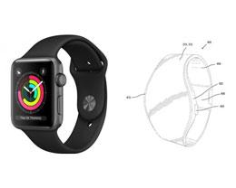 Apple Watch 新专利曝光:表带将覆盖屏幕