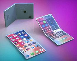 外媒根据苹果专利绘制渲染图:这样的折叠 iPhone 你觉得如何?