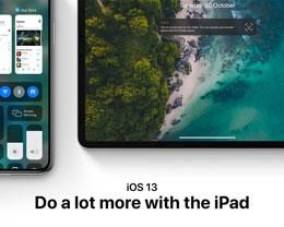 设计师渲染 iOS 13 概念图:全新音量控制 UI,iPad 鼠标支持