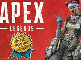 国外主播《Apex英雄》连续吃鸡32次 官方发祝贺