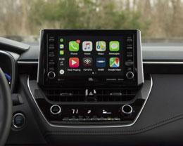 2020 款丰田卡罗拉将标配 CarPlay 车载系统