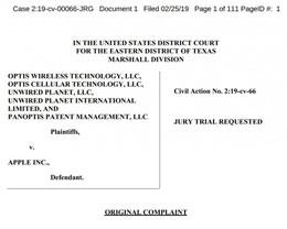 苹果遭「专利流氓」起诉:被控侵犯 LTE 相关专利