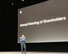 多图 | 苹果 2019 年投资者大会见闻