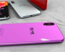 iPhone TS 概念设计图曝光 刘海终于消失/还有骚紫色
