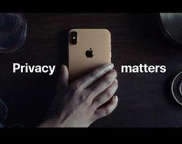 苹果发布第二个关于隐私的广告:用幽默细节来表达
