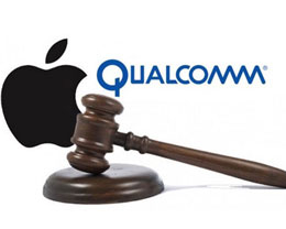 苹果高通专利纠?#35013;?#20013;,陪审团认定苹果侵权高通三项专利