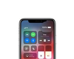 如何在 iPhone XS 上显示电量百分比?