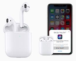 苹果发布新一代 AirPods 无线耳机与无线充电盒