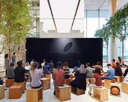 全球 Apple Store 将同步直播发布会内容