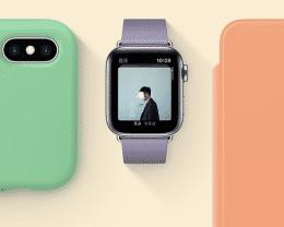 """""""科技以换壳为本""""  苹果上架新配色手机壳和表带"""