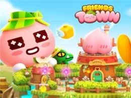 一起打造理想城镇 《Friends Town》双平台推出
