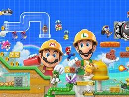 《超级马里奥制造2》将于6月28日登陆Switch平台