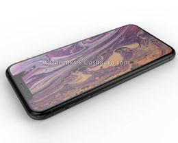 2019 iPhone Xl 最新渲染图:三摄像头凸起与后盖融为一体