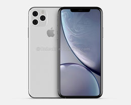 iPhone 11 Max 与 iPhone 11 的 CAD 渲染图对比