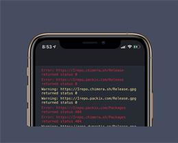 Sileo 添加源地址后出现红字、闪退的解决方法