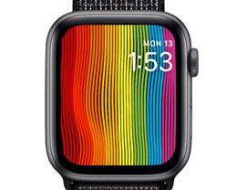watchOS 5.2.1 为 Apple Watch 带来全新「骄傲」彩虹表盘