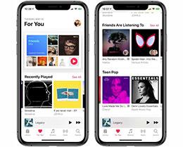 随 iOS 12.3 发布,Apple Music 带来全新布局及更多歌曲推荐