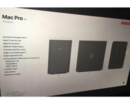 疑似全新模块化 Mac Pro 曝光,包含 Thunderbolt 4 接口